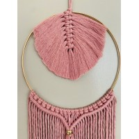 Macramé home dream Defne old pink