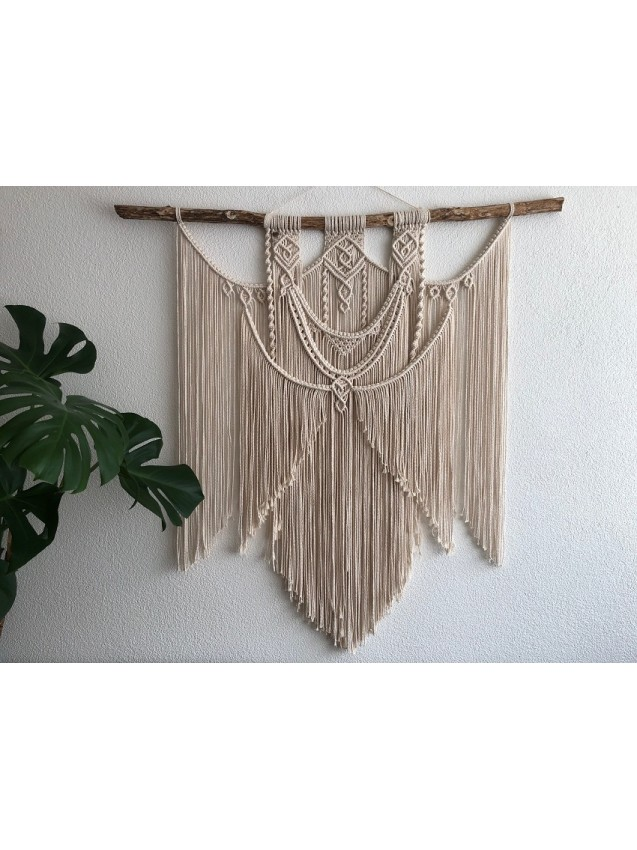 Large Macrame wall hanging Mimosa