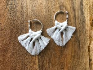 Macraméy earrings